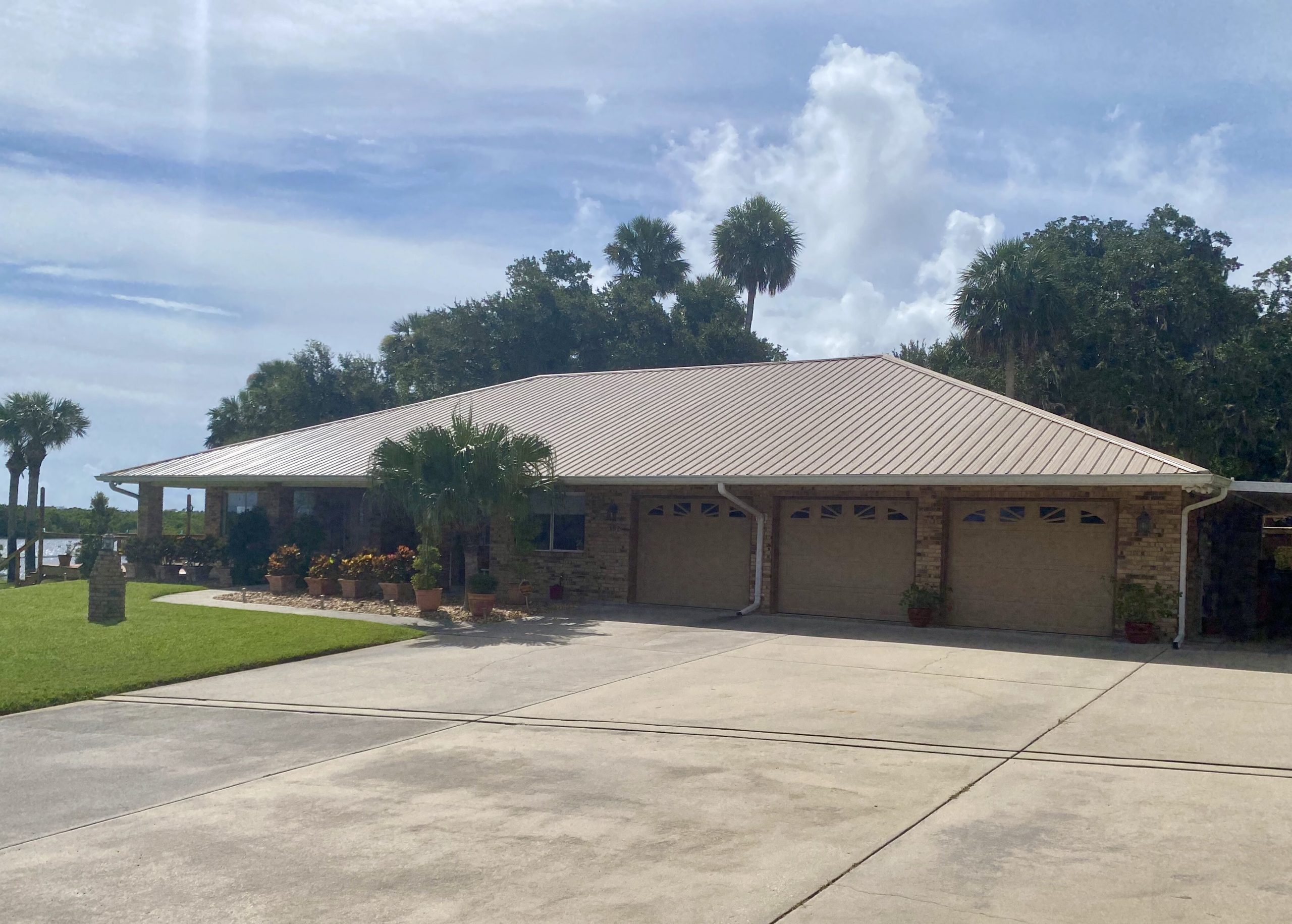 New Smyrna Beach Metal Roof