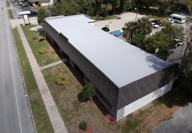 Commercial Flat Roof Ormond Beach by Astro Roofing