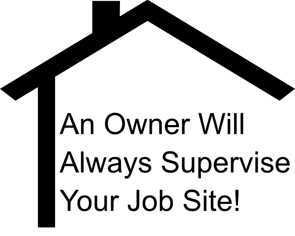 Owner Supervised Job Site badge