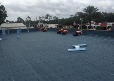 Ormond Beach commercial roofing project by Astro