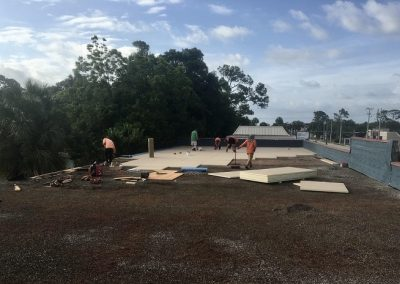 Ormond Flat Commercial Roof by Astro in progress