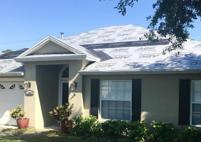 Port Orange house shingle roof in progress