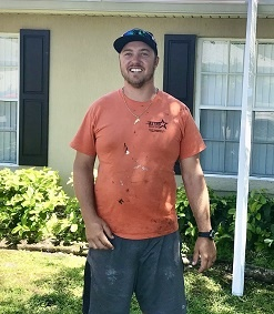 Eric Fuit on Roofing Job